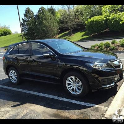 Acura RDX jerk hesitation gear shift