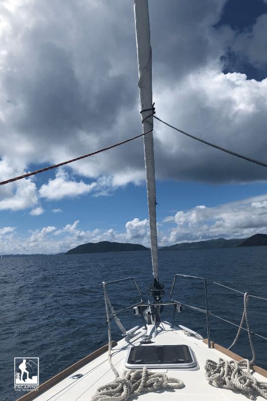 Sailing British Virgin Islands BVIs
