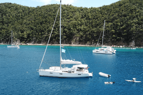 sailing british virgin islands BVI