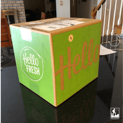 Hello Fresh box, review