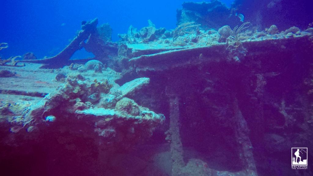 RMS Rhone wreck dive