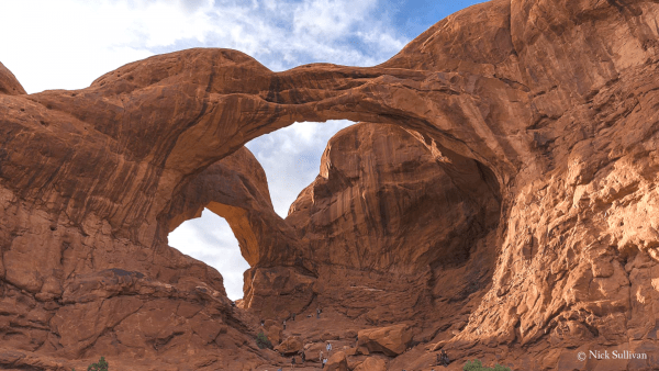 Double Arch, Arches National Park, southeastern Utah