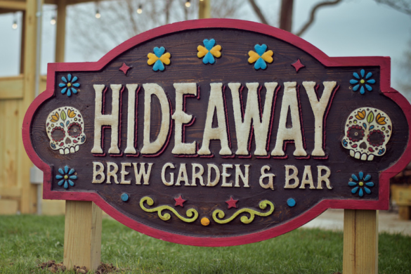 Hideaway Brew Garden & Bar Hoffman Estates beer garden