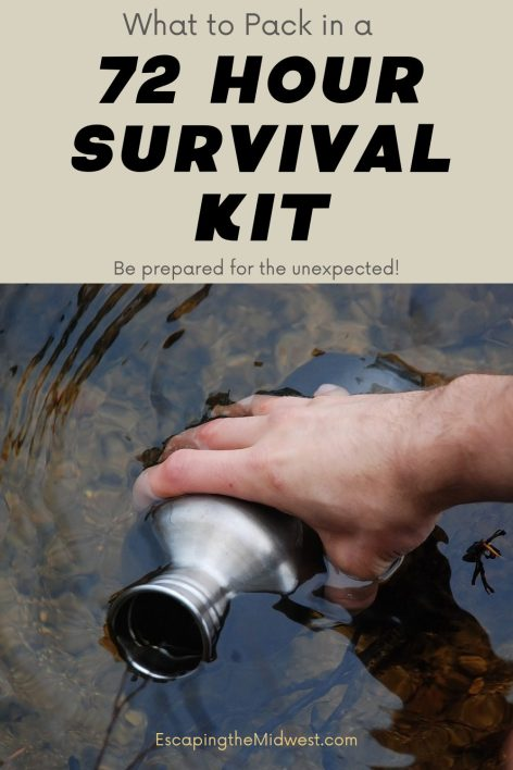 packing a survival kit