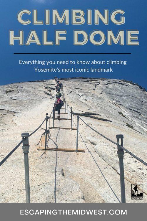 Tips for climbing half dome