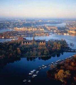 Stockholm, a city in water