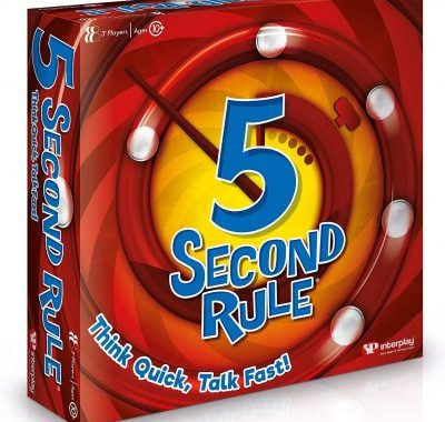5 Second Rule GF001 Card Game Review
