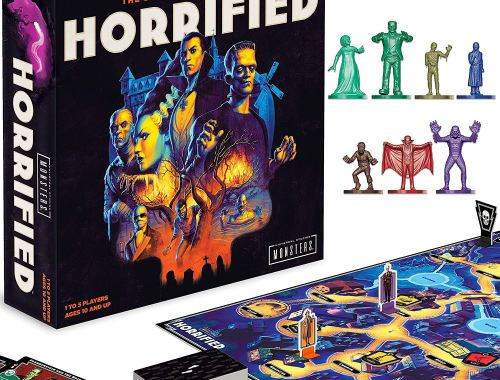 Horrified: Universal Monsters Game-The Stakes Have be Raised Review