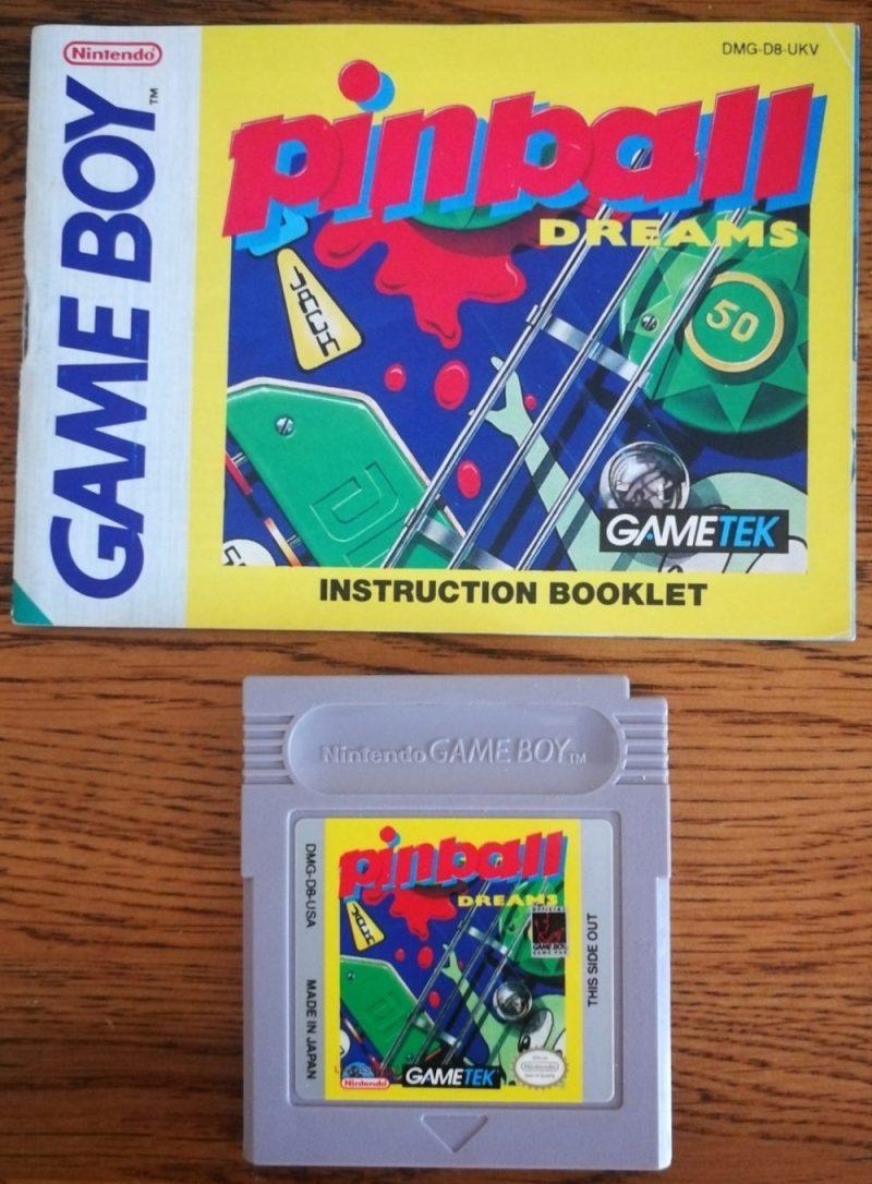 Pinball Dreams (Nintendo Gameboy)