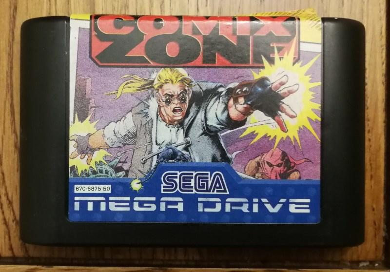 Comic Zone (Megadrive)