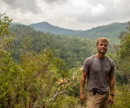 On top of Bukit Indah. Recovery from the humidity.