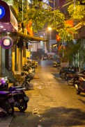 Hanoi Old Town at night