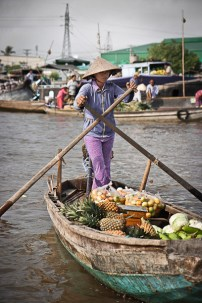 Floating Market Can Tho, Vietnam