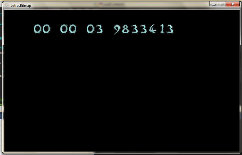 Fuentes con Bitmaps y estilo display LED - XNA (2/6)