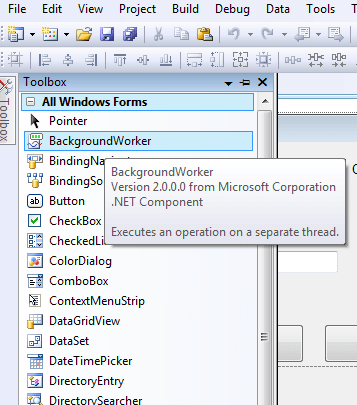 WPF  - Procesos en segundo Plano (BackgroundWorker) (1/4)