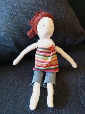 Doll dressed 1
