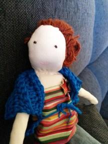 Doll dressed 3