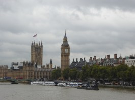 Houses of Parliament from Hungerford Bridge