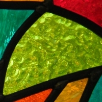 New Stained Glass Panel by Cathi Prince