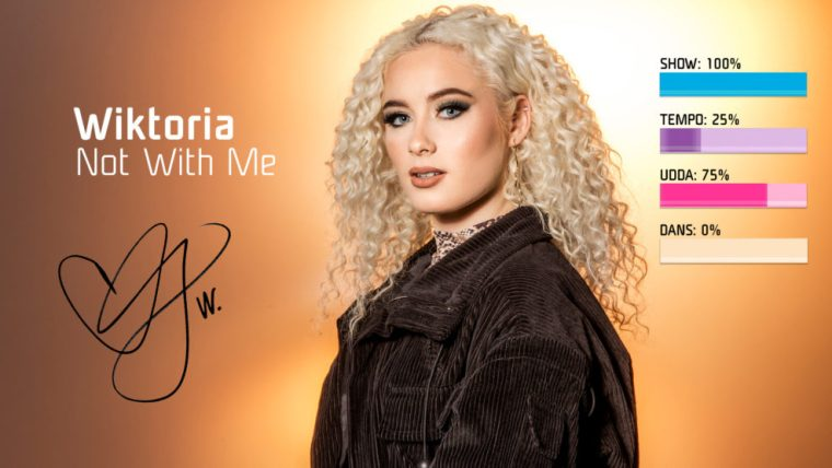Eurovision 2019 Sweden Melodifestivalen SF1 - Wiktoria
