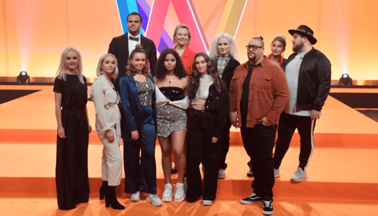 Eurovision 2019 Sweden Melodifestivalen SF1 artists
