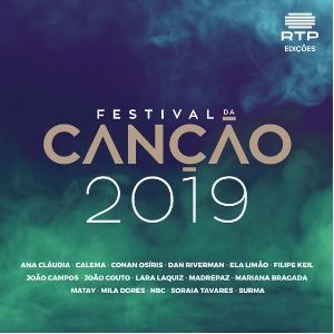 00 - Portugal 2019 (Festival Da Canção, Eurovision) 300x300