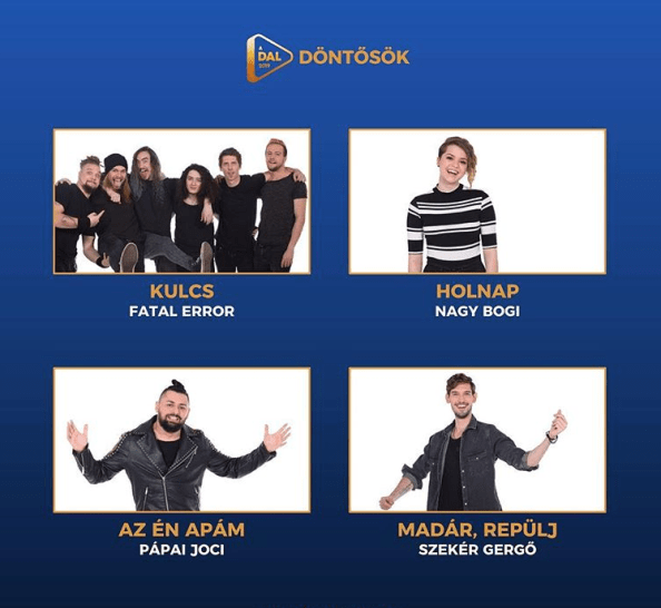 Eurovision 2019 Hungary ADAL Semi Final 2 Results