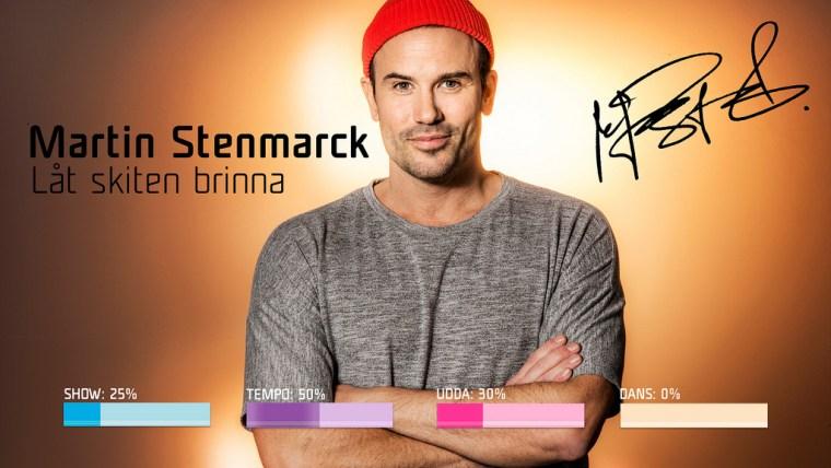 Eurovision 2019 Melodifestivalen Sweden MartinStenmarck–Låt skiten brinna.jpg