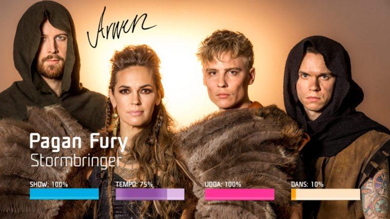 Eurovision 2019 - Sweden Melodifestivalen SF4 - 1. PaganFury–Stormbringer