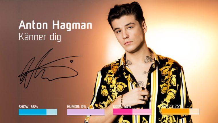 Eurovision 2019 - Sweden Melodifestivalen SF4 - 2.Anton Hagman–Känner dig