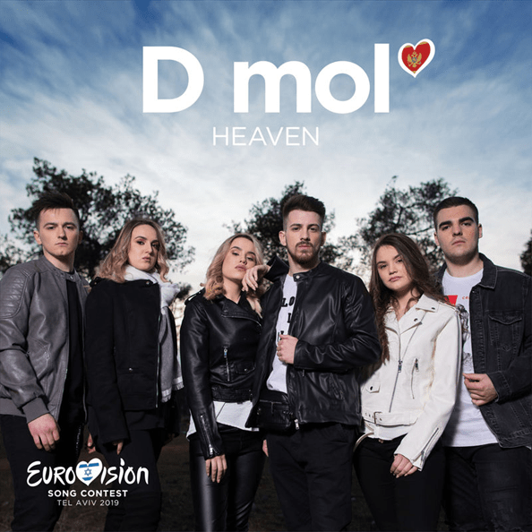 Eurovision 2019 Montenegro - D Mol - Heaven.png
