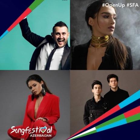Azerbaijan 2020 rumored artists