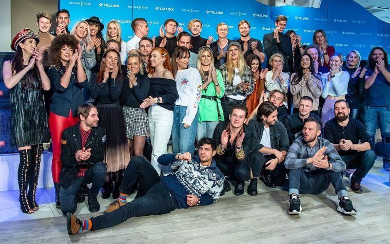 Eesti Laul 2020 Paritipants Eurovision