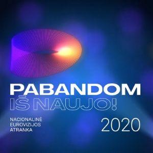 Lithuania 2020 (Eurovizijos Atranka Pabandom iš Naujo 2020, Eurovision) (ESCBEAT.com) 300x302