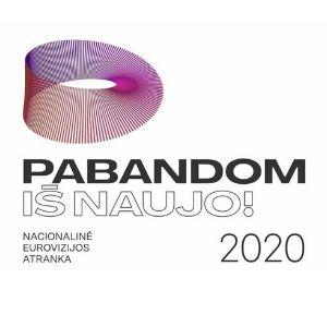 Lithuania 2020 (Eurovizijos Atranka pabandom is naujo 2020, Eurovision) (ESCBEAT.com) 300x300
