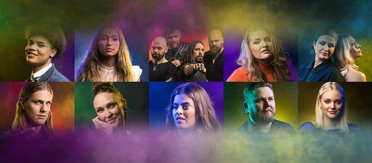 Söngvakeppnin 2020 artists