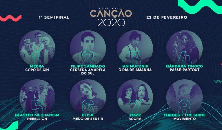 Eurovision 2020 - Portugal Festival da Canção - SF1
