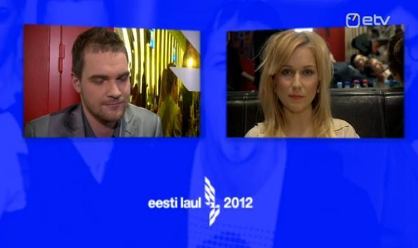 Estonia 2012 (Eesti Laul 2012, Eurovision) results