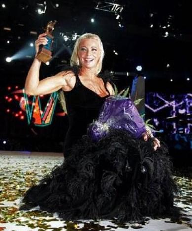 Eurovision Sweden Melodifestivalen 2009 Winner Malena Ernman - La Voix