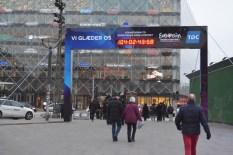 Copenhagen's Eurovision countdown clock (photo: ESC Reporter)