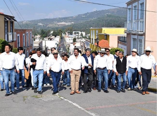 Panotla conmemoran el CV Aniversario de la batalla del 19 de noviembre