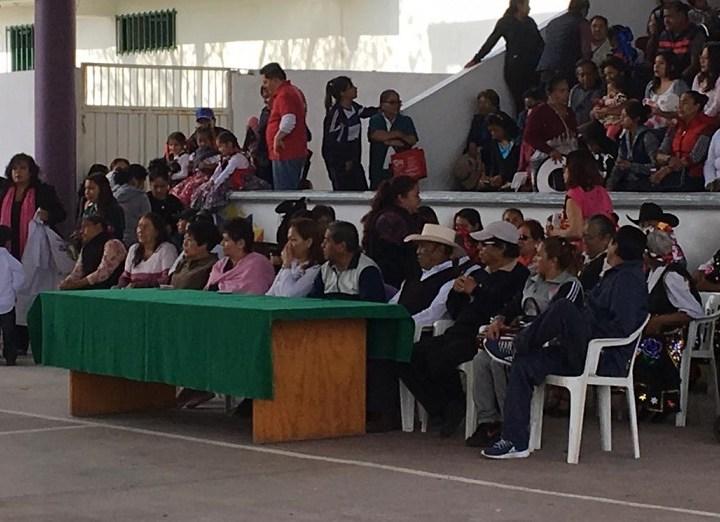 Conmemoran en Tezoquipan 109 Aniversario de la Revolución Mexicana.