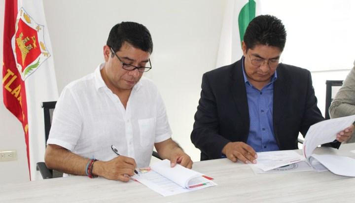 Universidad Politécnica de Tlaxcala  signa convenio con CONALEP