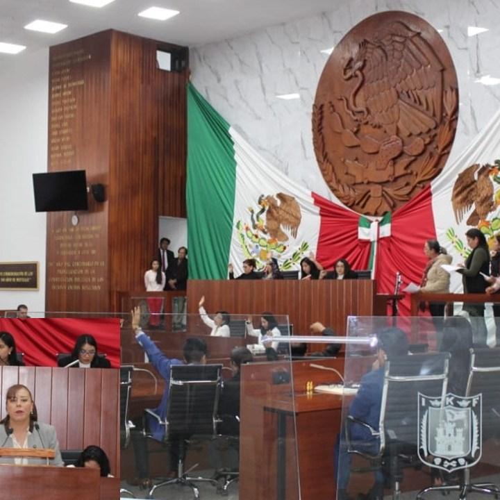 Ratifican a Cortes Roa en TJA; Báez López presentó propuesta en  contra que no prospero.