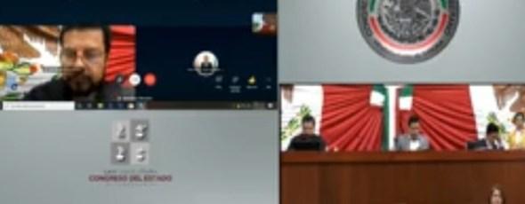 Por fallas técnicas, inicia y decretan receso de sesión virtual y electrónica del Congreso.
