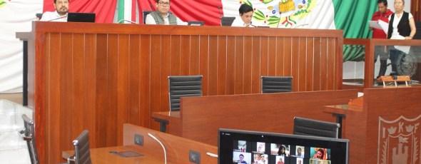 Aprueba Congreso del Estado sesionar de manera electrónica mientras persista contingencia por el COVID-19