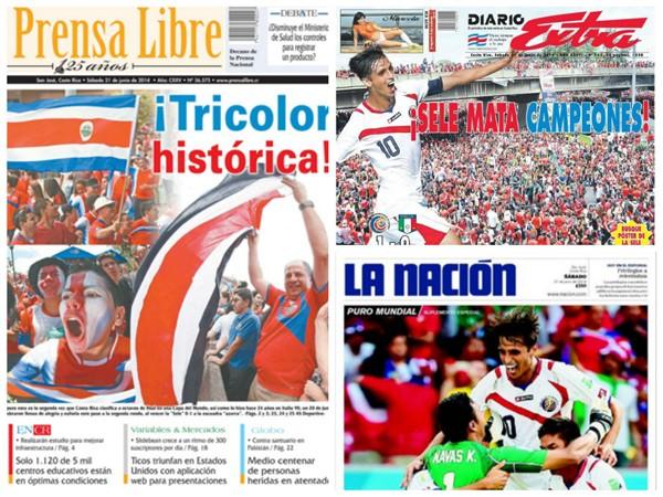 La mejor selección costarricense de la historia.