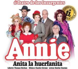 Elenco del musical Annie.