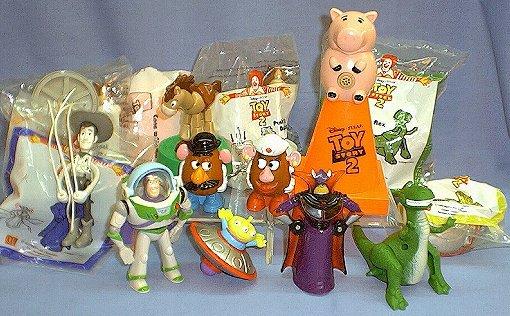 Juguetes de McDonalds (Colección Toy Story/ 2000)