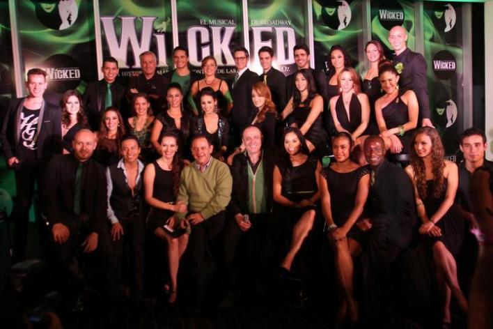 Compañía de Wicked México.